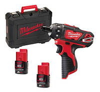 Шуруповерты/гайковерты MILWAUKEE M12 BD-202C
