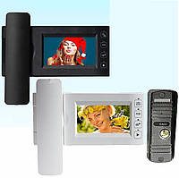 Комплект видеодомофона PC-437R0 с вызывной панелью PC668 и с записью фотографий, фото 1