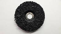 Круг зачистной из нетканного абразивного материала (черный) d 125x22