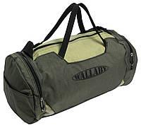 Сумка для тренировок Wallaby 216-2 (боченок), хаки с оливкой, 20 л