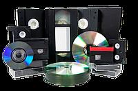 Переписать видео с кассеты на диск