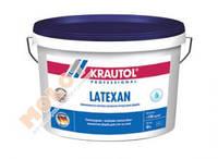 Краска интерьерная латексная для стен и потолков шелковисто-матовая,стойкая к мытью,Latexan - 2,5 л.