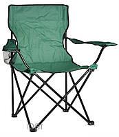 Кемпинговое кресло, складное, с подстаканником, удобное, товары для рыбалки