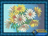 Схема для полной вышивки бисером - Букет цветов, Арт. НБп4-30