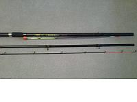 Фидерное удилище Crown Trusty FIBERGLASS,  90 гр.- 3 метра(3+3) , штекерная удочка, товары для рыбалки
