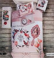 Постельное белье Deco Bianca 3d ранфорс ранфорс Sleep time подростковое