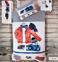 Постельное белье Deco Bianca 3d ранфорс ранфорс Style подростковое
