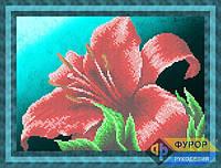 Схема для вышивки бисером - Красивый цветок, Арт. НБч4-042