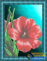 Схема для вышивки бисером - Красивый цветок, Арт. НБч4-053