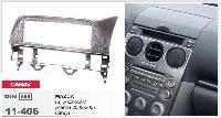 Рамка переходная Carav 11-406 Mazda 6, Atenza 2002-2007 1DIN бардачек Grey