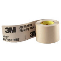 Влагоустойчивая лента 3M 8067 для герметизации ветрозащиты, гидро и пароизоляции