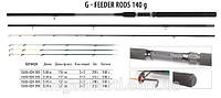 Фидер BratFishing G-Feeder Rods 3,9m (до 110g), фидерноу удилище , товары для рыбалки
