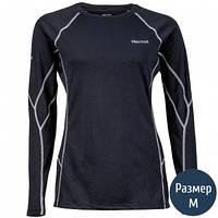 Термокофта женская MARMOT Wm's ThermalClime Sport LS Crew (100 г/м2, M), black 12740.001-M