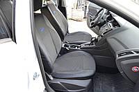 Чехлы Mitsubishi Outlander XL 2 2010-2012   комбинированные