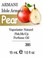 Парфюмерное масло (366) версия аромата Джорджо Армани Idole d`Armani - 15мл композит в роллоне