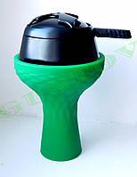 Комплект силиконовая чаша Samsaris Самсарис Классик и калауд Лотус Lotus (Черный).