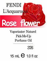 Парфюмерное масло на разлив парфюмерный композит версия L'Acquarossa Fendi