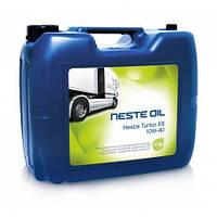 Масло моторное синтетическое NESTE Turbo E6 10W-40 20л