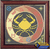 Схема для вышивки бисером - Знак Зодиака - Рак, Арт. ЗБп-8