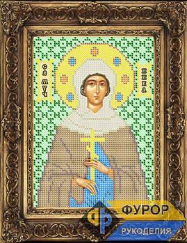 Схема для вышивки бисером иконы Виктория (Ника) Святая Мученица (ИБ5-011)