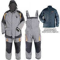 Костюм зимний (-32)Norfin Extreme 3 размер ХXXL, влагозащитный дышащий материал, куртка, полукомбинизон