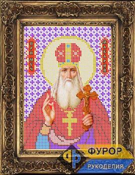 Схема для вышивки бисером иконы Макарий Преподобный Мученик (ИБ5-016)