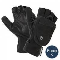 2 в 1 Перчатки + рукавицы мужские MARMOT Windstopper Convertible Glove, черные (р.S)