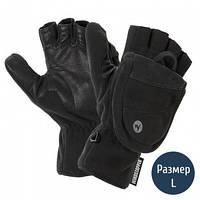 2 в 1 Перчатки + рукавицы мужские MARMOT Windstopper Convertible Glove, черные (р.L)