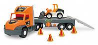 """Автотрек """"Super Tech Truck"""" з бульдозером, Wader, 36720"""