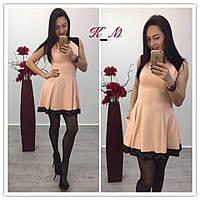 Женское красивое платье А-силуэта (2 цвета)