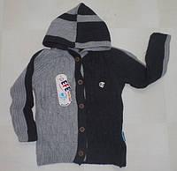 Кофта вязанная для мальчиков 2,3,4 года.  Детская одежда оптом Турция.