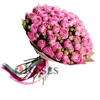 """Букет """"Сен-Тропе"""" 25 кустовых роз"""