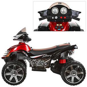 Детский квадроцикл черно-красный M 3101 EBLR черно-красный, фото 2