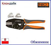 Обжимник для кабельных наконечников NEO 01-506