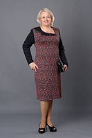 Женское платье больших размеров 52,54,56,58
