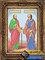 Схема иконы для вышивки бисером - Святые апостолы Петр и Павел, Арт. ИБ4-093