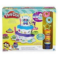 Пластилин Плей До Праздничный торт 2 в 1 (8 банок) Play-Doh Sweet Shoppe Cake Mountain 2-in-1, фото 1