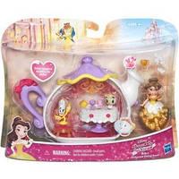 """Игровой набор для маленьких кукол Принцесс """"Комната для чаепития Белль"""" Hasbro"""