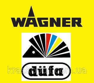 Нанесение красок Düfa краскораспылителями Wagner