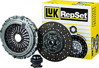 Комплект сцепленния 143 9240 10 корзина с выжимным + 343 0205 10 диск (LUK), 643298100