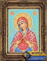 Схема иконы для вышивки бисером - Семистрельная Пресвятая Богородица, Арт. ИБ3-005