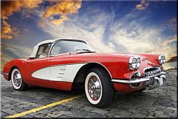 Светящиеся картина Startonight Chevrolet Corvette классический
