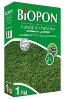 Удобрение Biopon  для газона  для борьбы с сорняком  1кг