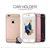 Металлическая накладка + Автодержатель Nillkin для Apple iPhone 6/6s plus