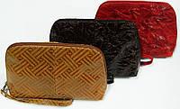 Женские косметички из натуральной кожи (в ассортименте)