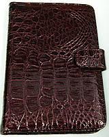 Чехол для планшетов с диагональю 7дм из искусственной кожи (бордо\рептилия)
