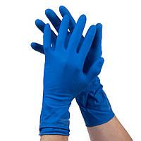 18-013009 РЛатексная перчатка для хозяйственных работ Biclean High Risk, размер: L