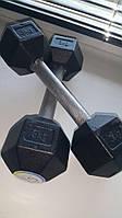 Гантель стальная неразборная весом 3 кг