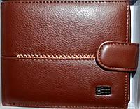 Мужские кошельки и портмоне кожаные MeiliGer (2 цвета) КАШТАН
