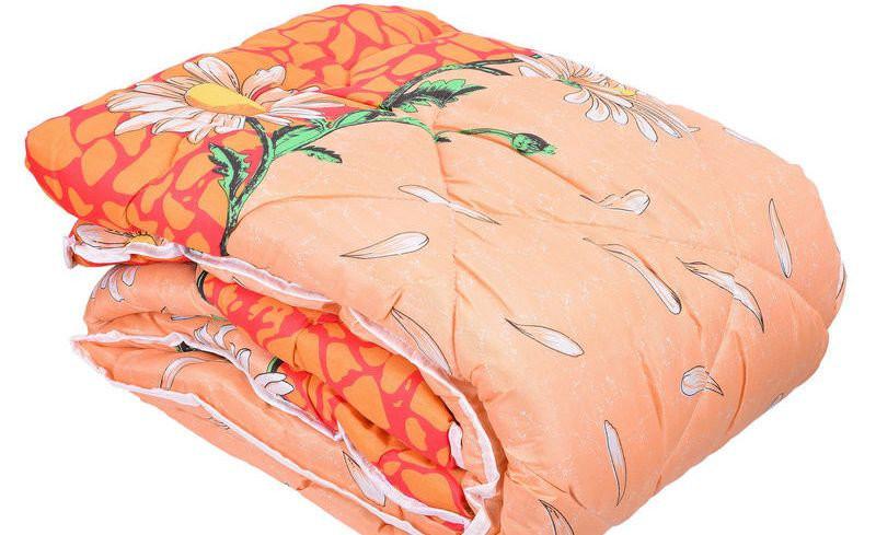 Двухспальное одеяло овечья шерсть (Поликатон) по низким ценам оптом и в разницу